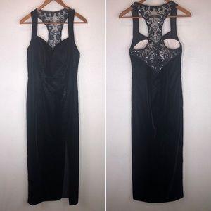 Vintage Flirtations Alfred Angelo Velvet Dress